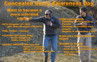 Concealed Carry Awareness Day