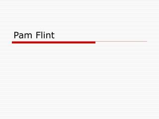 Pam Flint