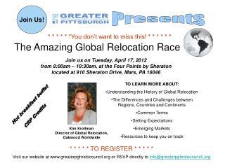 The Amazing Global Relocation Race
