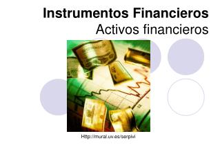 Instrumentos Financieros Activos financieros