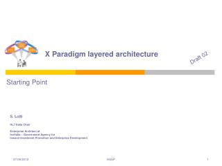 X Paradigm layered architecture