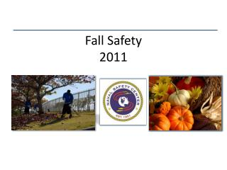 Fall Safety 2011