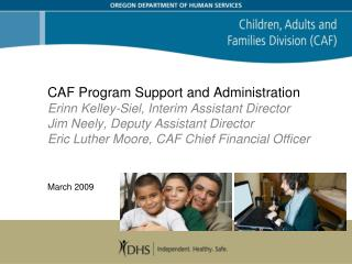 Program Support and Administration