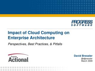 Impact of Cloud Computing on Enterprise Architecture