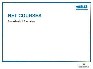 Net  Courses