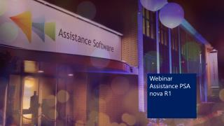 Webinar  Assistance PSA nova R1