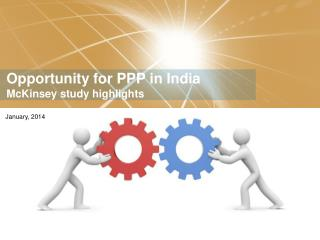 Opportunity for PPP in India McKinsey study highlights