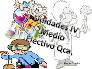 Unidades IV Medio  Electivo Qca.