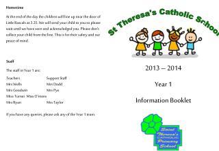 St Theresa's Catholic School