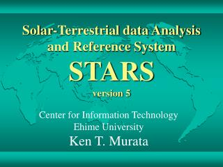 Solar-Terrestrial data Analysis  and Reference System STARS version 5