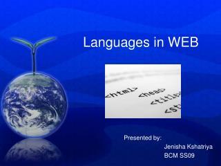 Languages in WEB