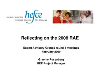 Reflecting on the 2008 RAE