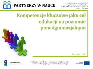 Kompetencje kluczowe jako cel edukacji na poziomie  ponadgimnazjalnym