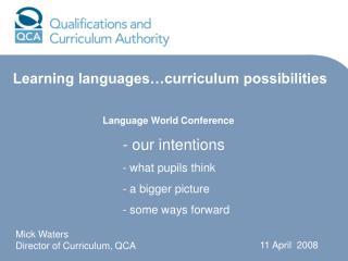 Language World Conference