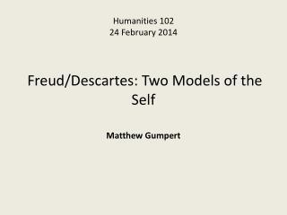 Humanities 102 24  February  201 4