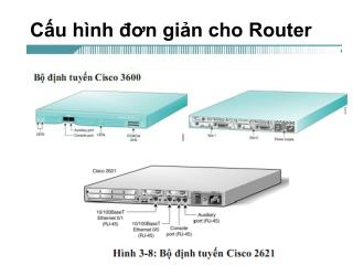 Cấu hình đơn giản cho Router