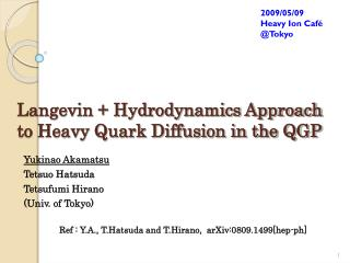 Langevin + Hydrodynamics Approach to Heavy Quark Diffusion in the QGP