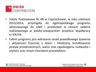 Instytut Żywności i Żywienia im. prof. dra med. Aleksandra Szczygła