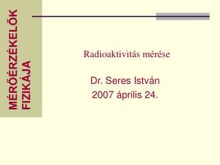 Radioaktivitás mérése