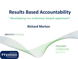 """developing an outcomes based approach"""