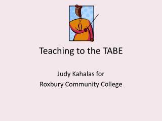 Teaching to the TABE