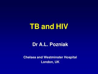 TB and HIV