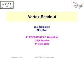 Vertex Readout