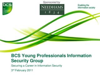 BCS Young Professionals Information Security Group