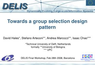 Group Selection Design Pattern