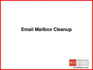 Email Mailbox Cleanup