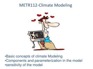 METR112-Climate Modeling