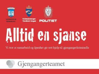 Kommune og politi startet et samarbeid i 2004 Forprosjekterings periode 2005, (Husbankmidler)