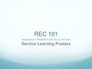 REC 101