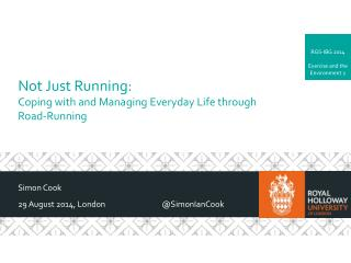 Not Just Running: Coping with and Managing Everyday Life through Road-Running