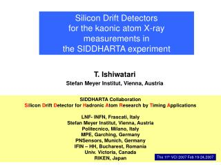 Silicon Drift Detectors  for the kaonic atom X-ray measurements in  the SIDDHARTA experiment