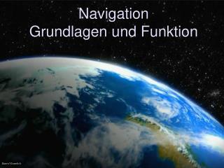 Navigation Grundlagen und Funktion