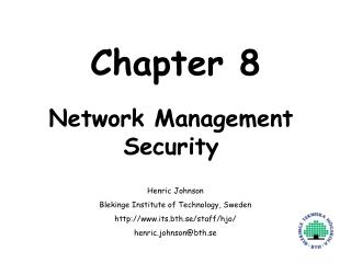 Network Management Security