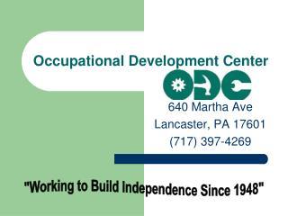Occupational Development Center