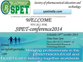 Society of pharmaceutical education and technology