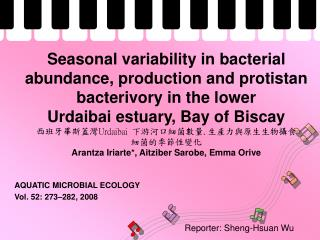 AQUATIC MICROBIAL ECOLOGY Vol. 52: 273–282, 2008