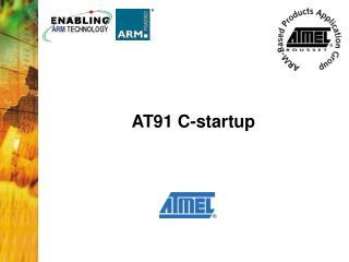 AT91 C-startup