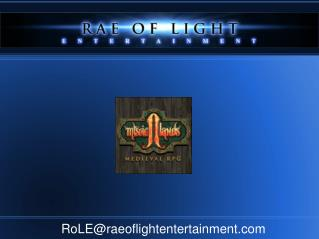 RoLE@raeoflightentertainment