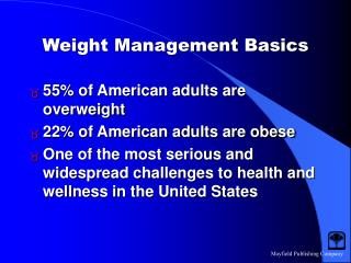 Weight Management Basics