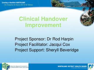 Clinical Handover Improvement