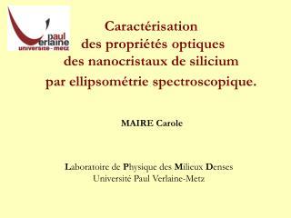 MAIRE Carole