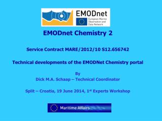 EMODnet Chemistry 2 Service Contract MARE/2012/10 S12.656742