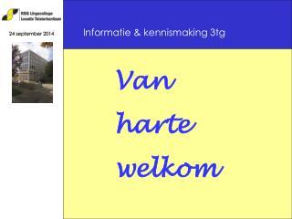 Informatie & kennismaking 3tg