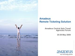 Amadeus Remote Ticketing Solution