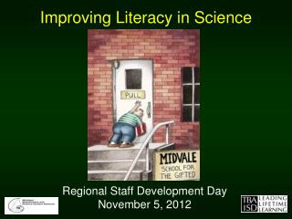 Improving Literacy in Science
