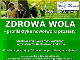 Urząd Miasta Stołecznego Warszawy - Biuro Polityki Zdrowotnej: